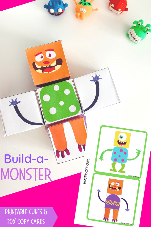 Build a Monster pin