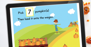 Pumpkin Patch Counting Digital Resource