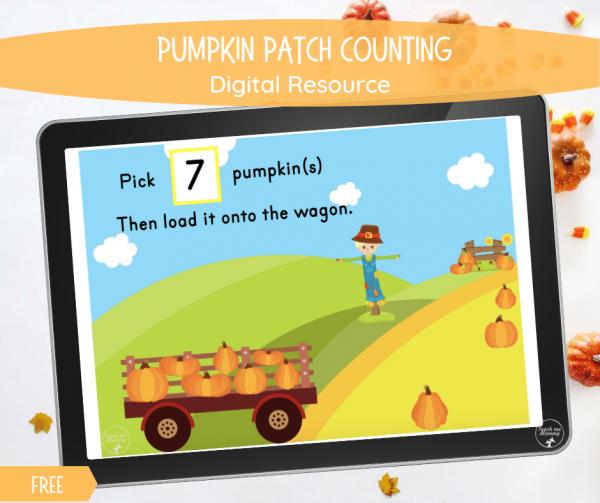 Pumpkin patch digital resource