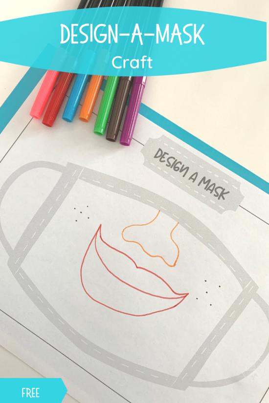 Design a mask craft pin
