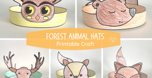 Forest Animal Hats