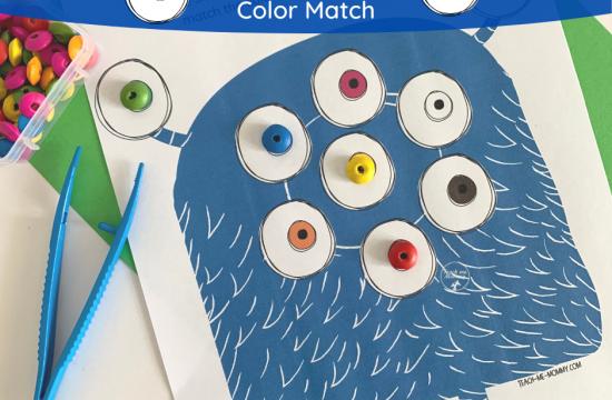 Monster Eyes Match