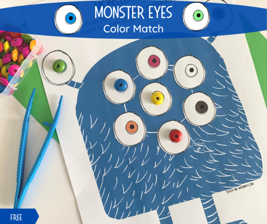 Monster Eyes Match