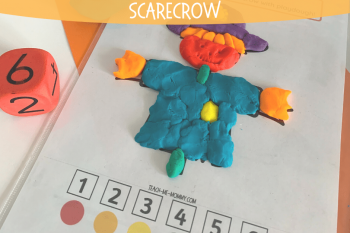 Scarecrow Playdough Mat