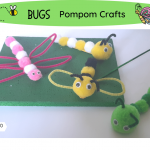 Bugs Pompom crafts fb