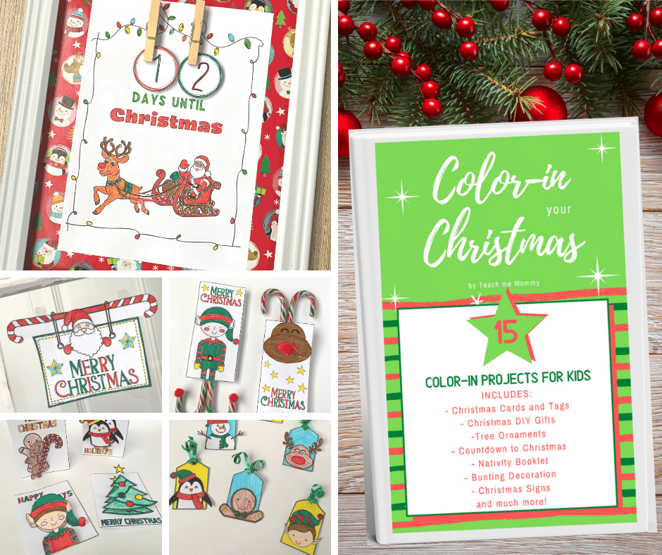 Color-in Your Christmas