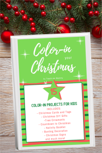 Color-in Your Christmas E-Book