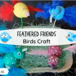 Birds craft for kids