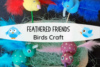 Feathered Friends Birds Craft