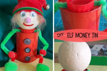 Elfie Money Tin
