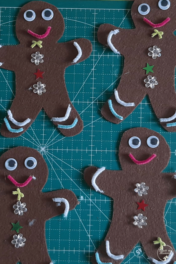 Decorate gingerbread men