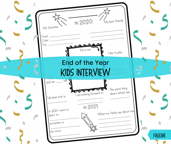 End of the Year Kids Interview