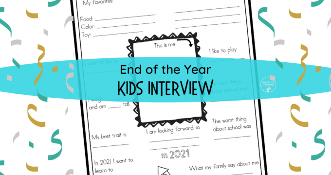 End of Year Interview