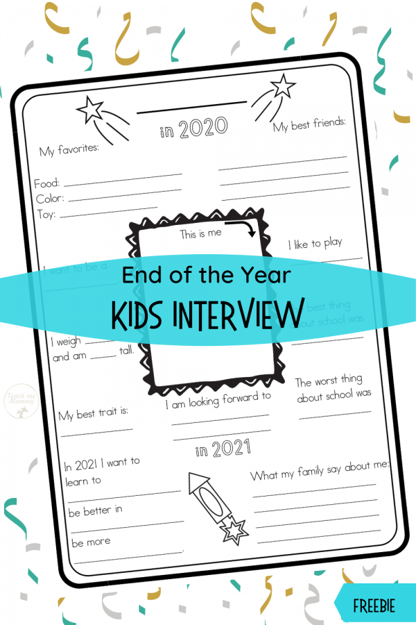 Kids Interview End of Year