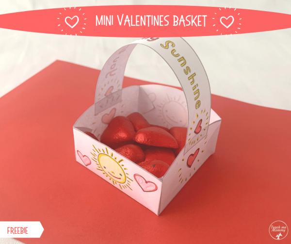 Valentines basket fb