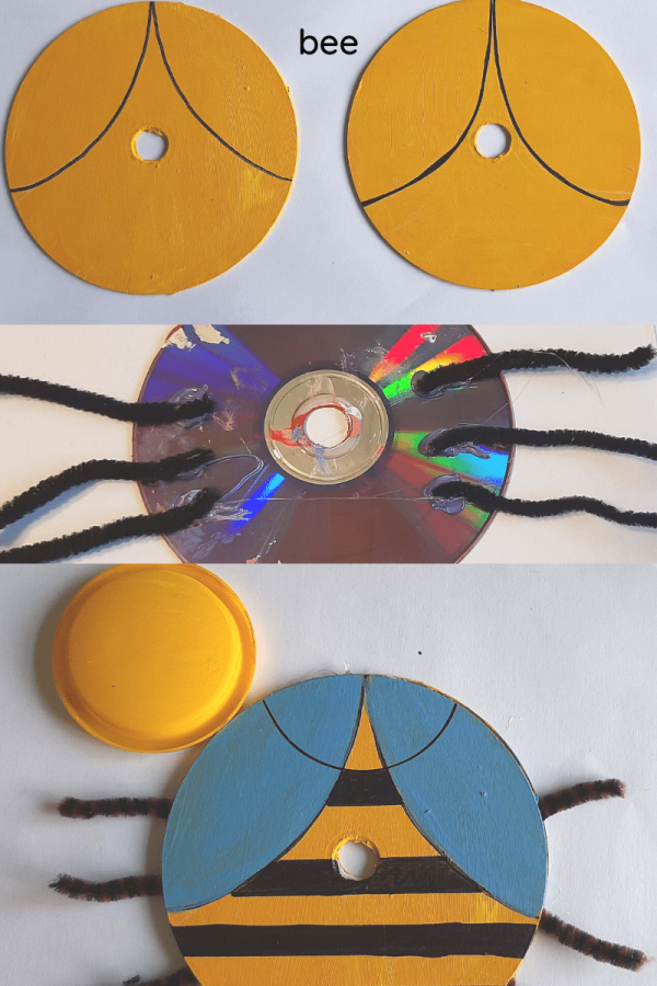 bee recycle craft