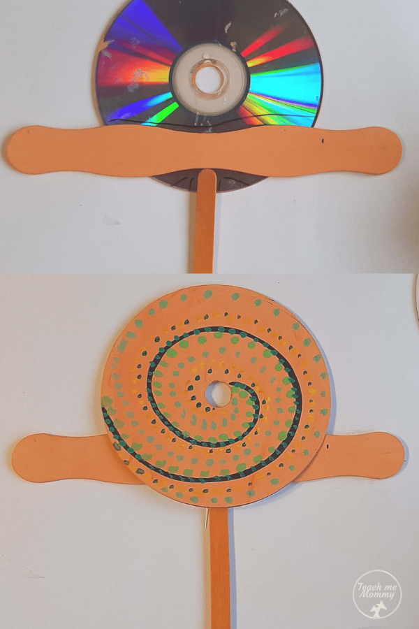 snail recycle craft