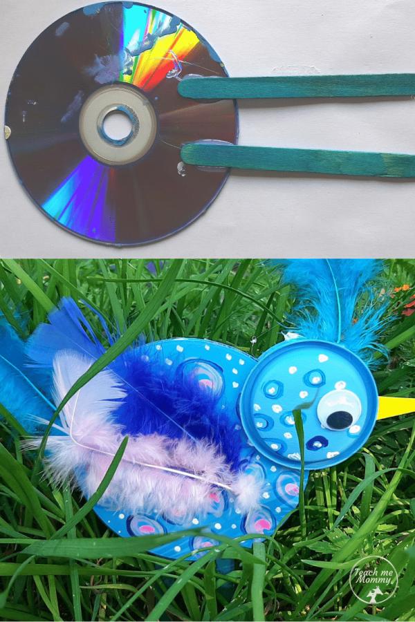 bird recycle craft