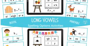 Long Vowel Spelling Options