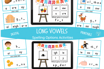 Long Vowel Spelling Options