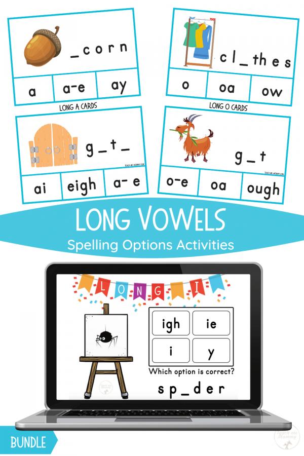 Long Vowels pin