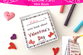 Valentine's Day Mini Book