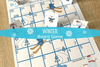 Winter Board Game