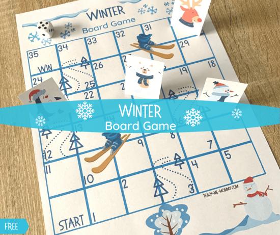 Winter Board Game fb