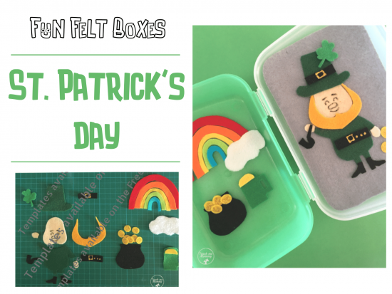 ST. Patrick's Day busy box