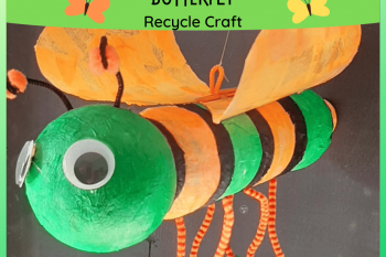 Butterfly Recycle Craft