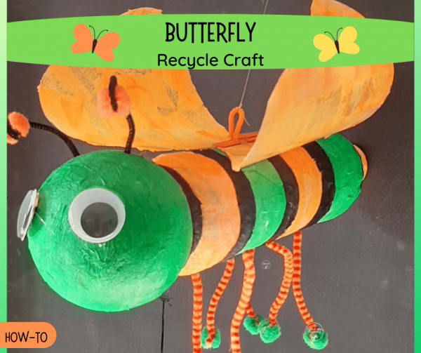 Butterfly Recycle Craft fb