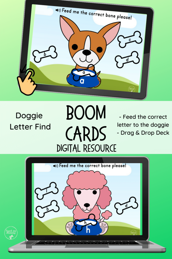 Doggie Letter Find pin