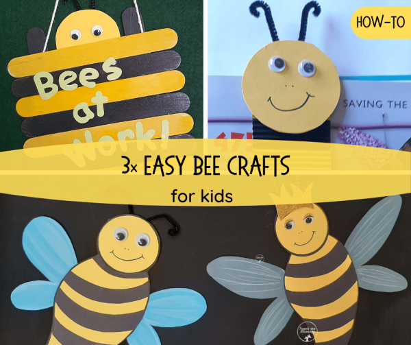 Easy bee crafts fb