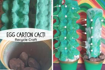 Egg Carton Cacti