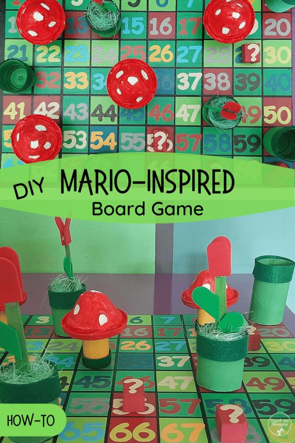 Mario-inspired board game PIN