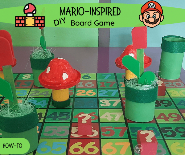 Mario-insrired board game fb