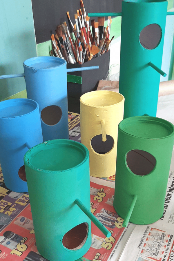 Painted tubes