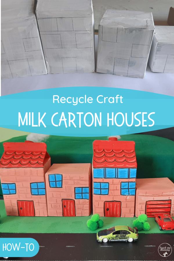 Milk carton houses PIN
