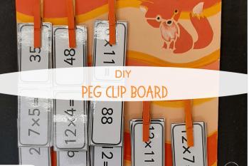 Peg Clip Board