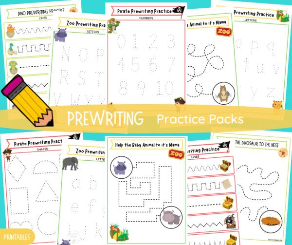 Prewriting Practice Packs FB