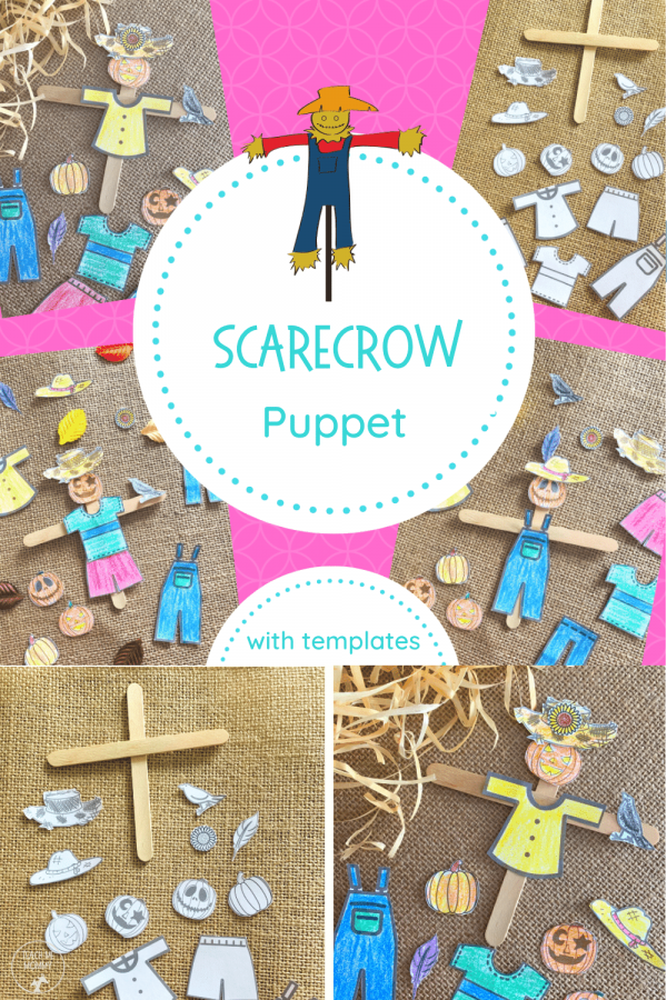 Scarecrow puppets PIN