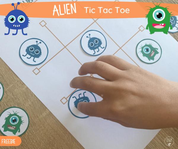 Alien Tic Tac Toe FB