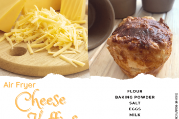 Air Fryer Cheese Muffins