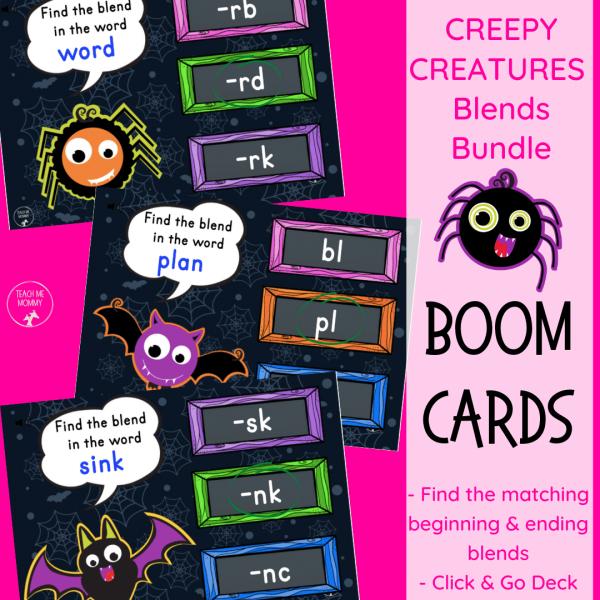 Creepy creatures blends bundle