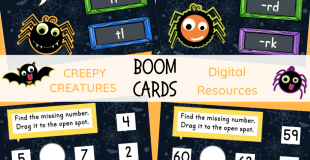 Creepy Creatures Digital Resources