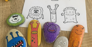 Monster Rock Painting