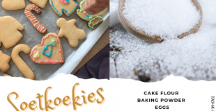 South African Soetkoekies aka Sugar Cookies