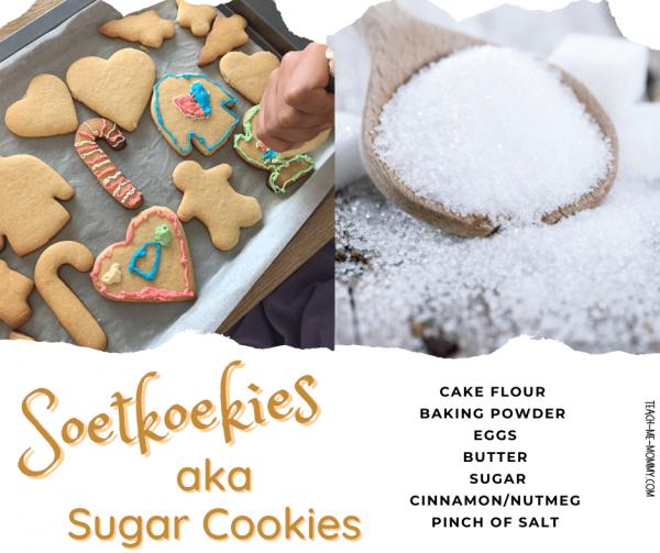 Soetkoekies aka Sugar cookies