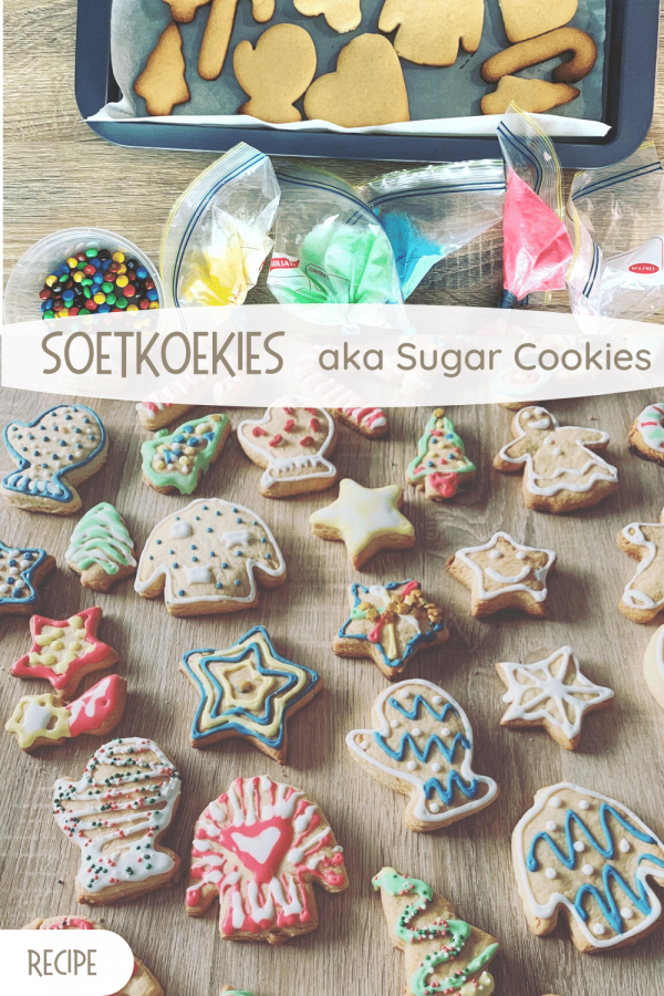 Soetkoekies aka sugar cookies pin