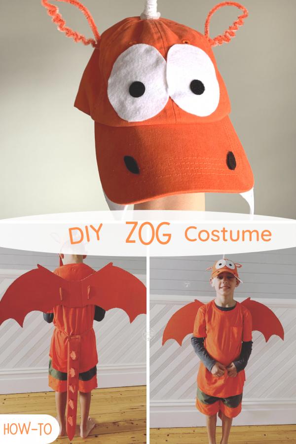 Zog costume PIN